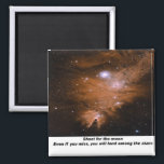 """Stars Magnet<br><div class=""""desc"""">An image of space with a motivational message.</div>"""