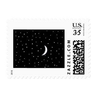 Stars & Moon Stamp