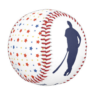 Stars MVP Keepsake Personalized Baseball