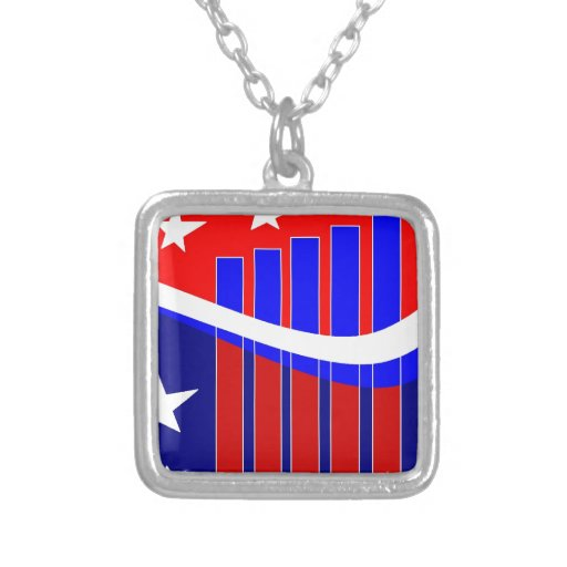 Stars n Bars Necklace