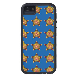 STARS n BLUE BASE: Art by NAVIN JOSHI lowprices Case For iPhone SE/5/5s