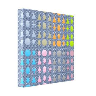 Stars n Shapes : Magic Carpet 3 Canvas Print