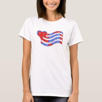 Stars 'n Stripes Heart T-Shirt