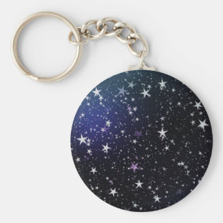 Stars night sky keychain