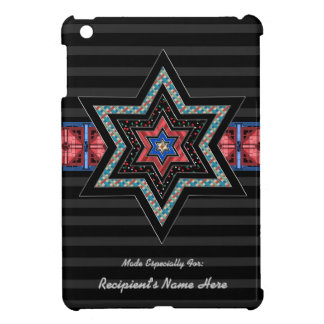STARS of David and Stripes v2 (Personalized) iPad Mini Cases