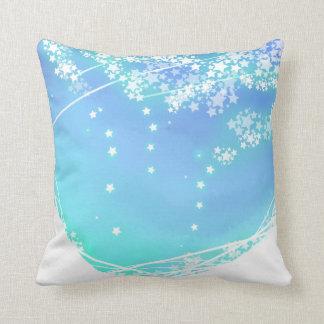 Stars of Sky Throw Pillow