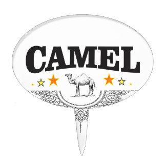 stars of the camel cake topper