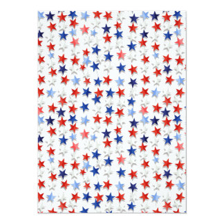 Stars of the Nation 5.5x7.5 Paper Invitation Card