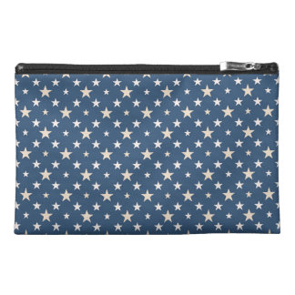 Stars on blue night travel accessory bags