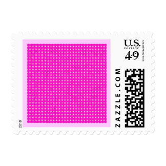 STARS ON PINK STAMPS