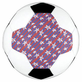 Stars on Stripes Soccer Ball