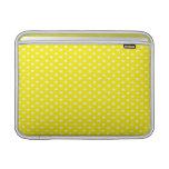 Stars on Yellow MacBook Air Sleeves