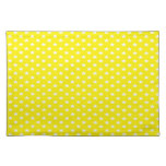 Stars on Yellow Placemats