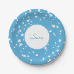 Stars Paper Plate