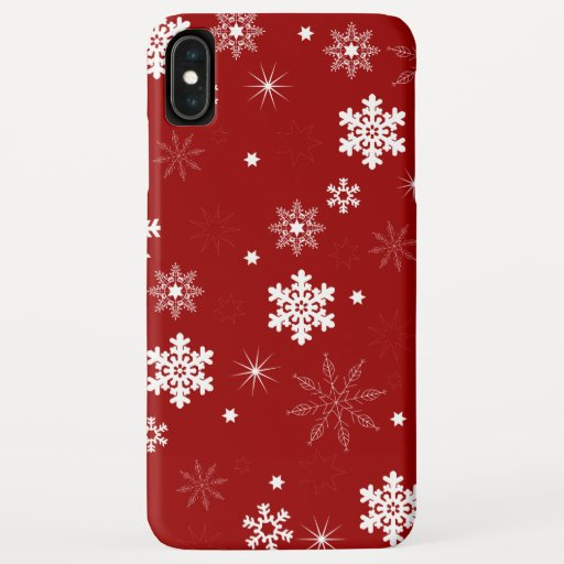Stars Pattern iPhone XS Max Case