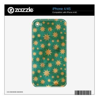 Stars pattern iPhone 4 skin