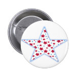 stars pinback button