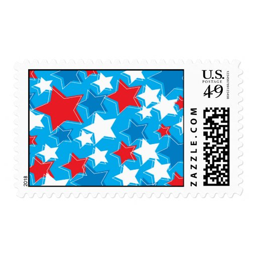 stars postage