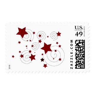 Stars Postage Stamp