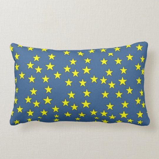 Stars print  pillow
