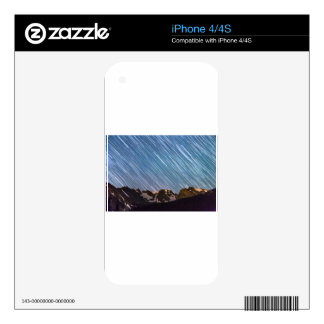 Stars Raining Down On The Colorado Indian Peaks Decals For iPhone 4