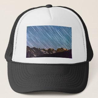 Stars Raining Down On The Colorado Indian Peaks Trucker Hat
