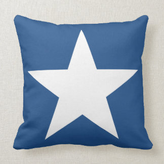 Stars Red White Blue Throw Pillow