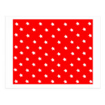 Stars Red White The MUSEUM Zazzle Gifts Postcard