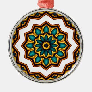 Stars rider Mandala Metal Ornament