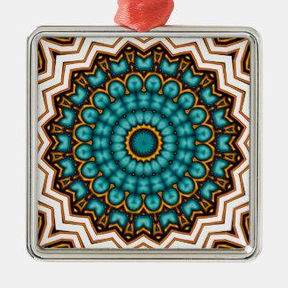 Stars rider Mandala motive Metal Ornament