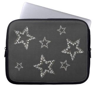 Stars shine laptop sleeve