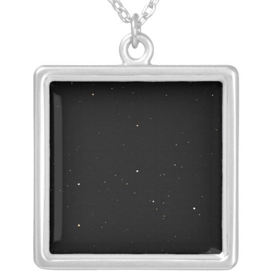 Stars Silver Plated Necklace