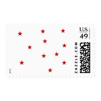 Stars sky stamps