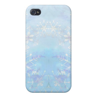 STARS & SNOWFLAKES by SHARON SHARPE iPhone 4/4S Cover