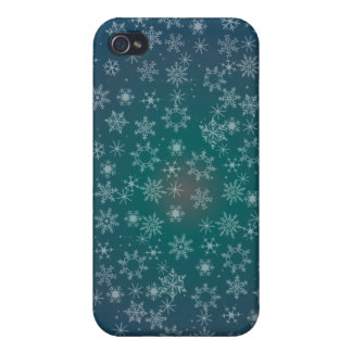 STARS & SNOWFLAKES by SHARON SHARPE iPhone 4/4S Case