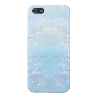 STARS & SNOWFLAKES by SHARON SHARPE Covers For iPhone 5
