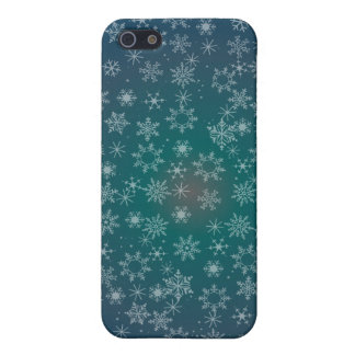 STARS & SNOWFLAKES by SHARON SHARPE iPhone 5 Case