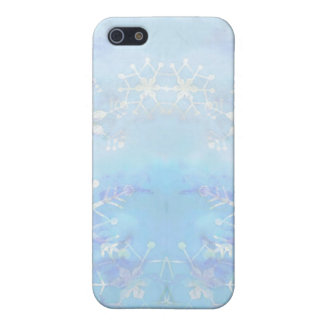 STARS & SNOWFLAKES by SHARON SHARPE iPhone SE/5/5s Cover
