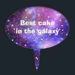 "Stars space galaxy magical wish art cake topper<br><div class=""desc"">Stars space galaxy magical wish art</div>"