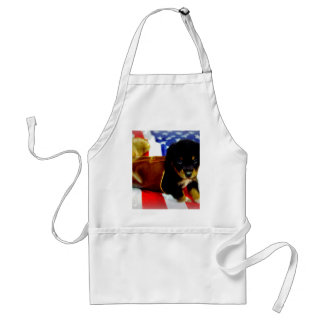 Stars Spangled Puppy Aprons