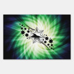 Stars; Starry Design Lawn Signs