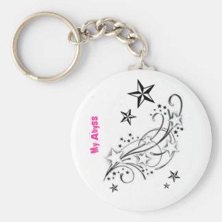 Stars, stars, and more stars! key chain