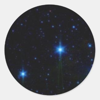 stars round stickers