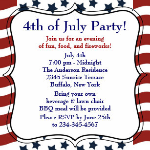 bbq party invitations zazzle