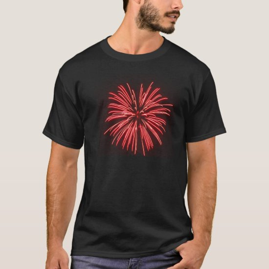 Stars & Stripes 4th of July Fireworks T-Shirt