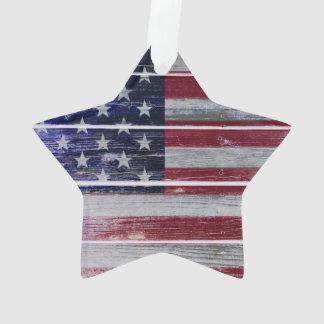 Stars & Stripes American Flag Ornament