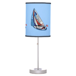 Stars Stripes and Sails Table Lamp