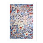 Stars & Stripes Angel Postcard