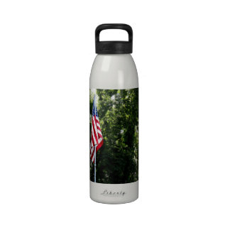 Stars Stripes Before the Trees Water Bottle