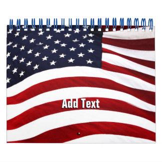 Stars & Stripes Calendar With Reminder